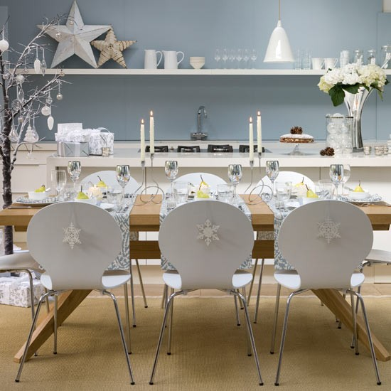Christmas---Modern---Dining-decoration