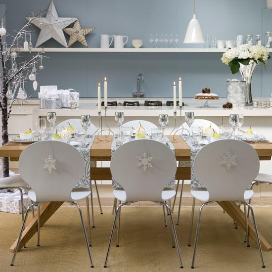 Christmas---Modern---Dining-decoration